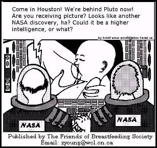 BREASTFEEDING IN SPACE!